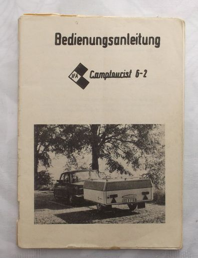 Operating Instructions Camptourist CT 6-2, used