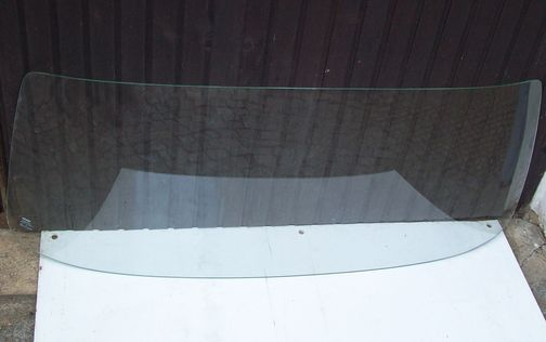 Wartburg 353 laminated glass windscreen front, front window, used